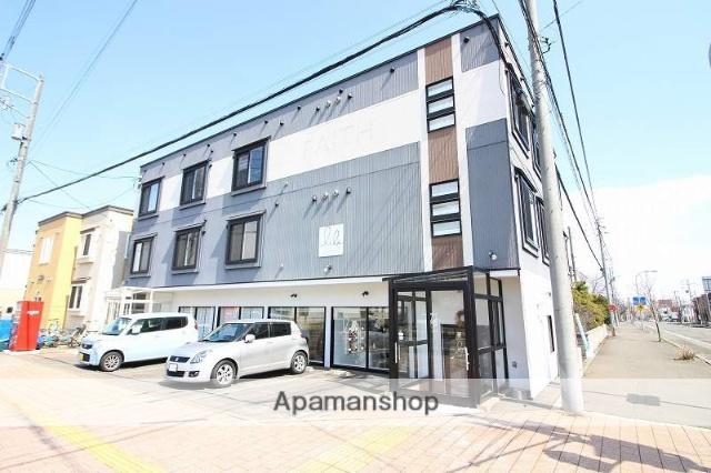 北海道恵庭市、恵庭駅徒歩2分の築7年 2階建の賃貸アパート