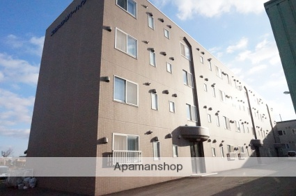 北海道恵庭市の築15年 4階建の賃貸マンション