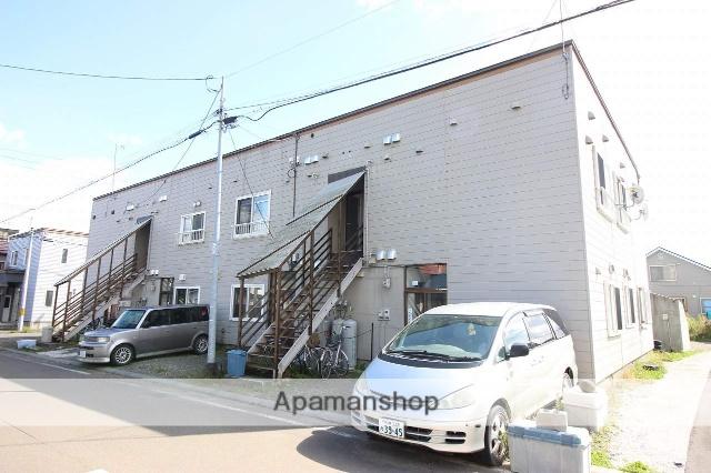 北海道恵庭市の築37年 2階建の賃貸アパート