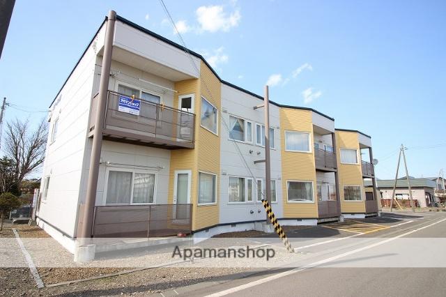 北海道恵庭市の築25年 2階建の賃貸アパート