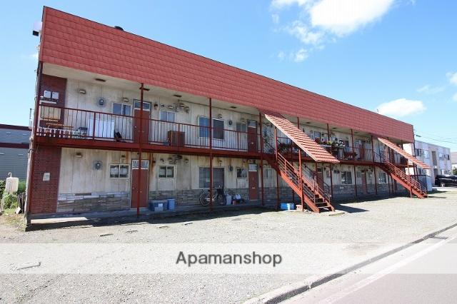 北海道恵庭市、恵庭駅徒歩16分の築36年 2階建の賃貸アパート