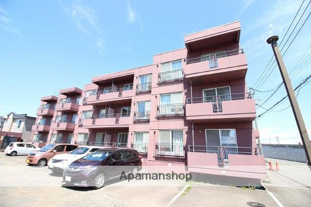 北海道恵庭市、恵庭駅徒歩5分の築25年 3階建の賃貸マンション