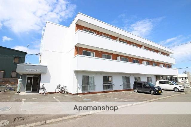 北海道恵庭市、恵み野駅徒歩11分の築20年 3階建の賃貸マンション