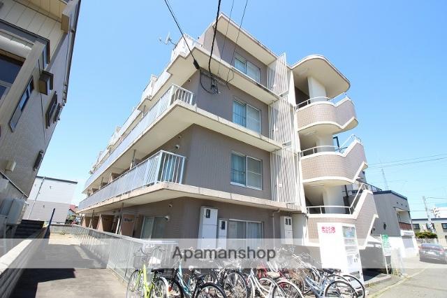 北海道恵庭市、恵庭駅徒歩11分の築26年 4階建の賃貸マンション