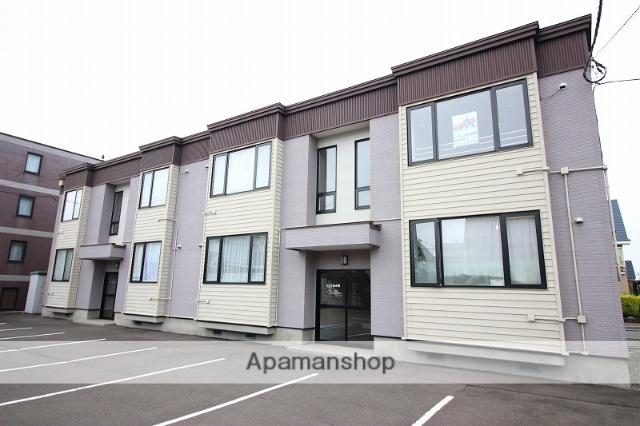 北海道恵庭市、恵み野駅徒歩18分の築14年 2階建の賃貸アパート