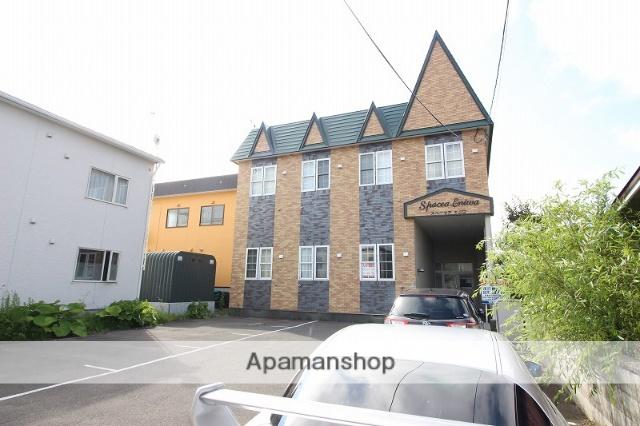 北海道恵庭市、恵庭駅徒歩9分の築26年 2階建の賃貸アパート