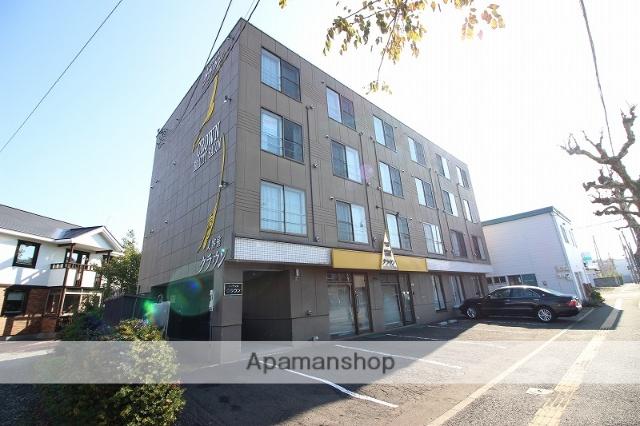 北海道恵庭市、恵庭駅徒歩7分の築23年 4階建の賃貸マンション