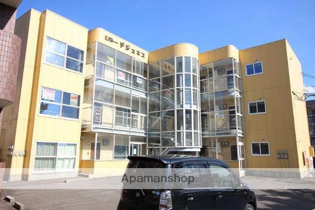 北海道恵庭市、恵み野駅徒歩13分の築28年 3階建の賃貸マンション
