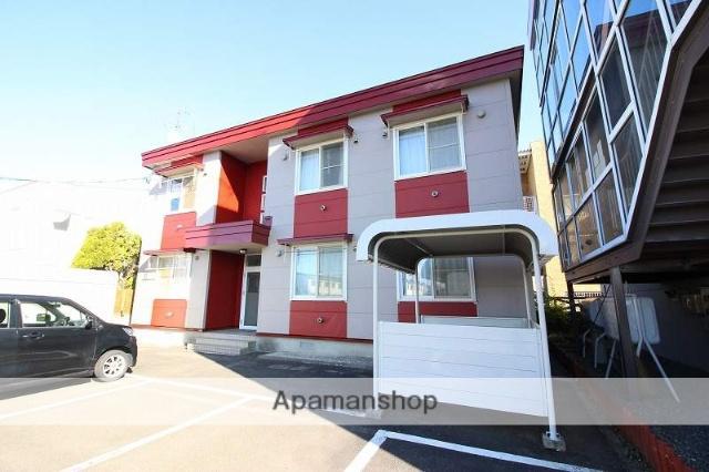 北海道恵庭市、恵み野駅徒歩9分の築14年 2階建の賃貸アパート
