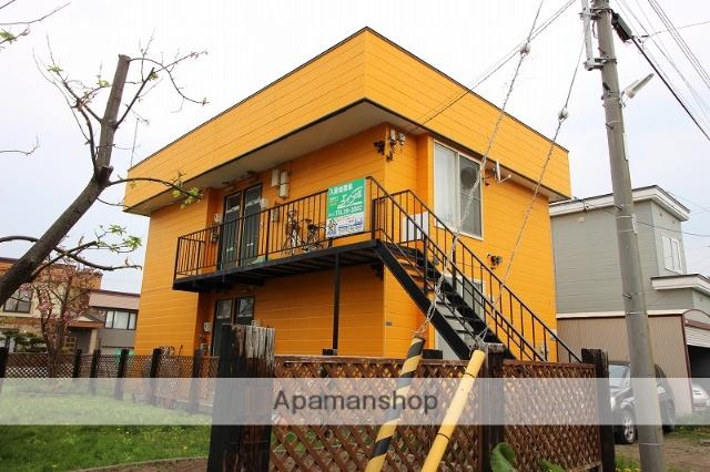 北海道恵庭市の築26年 2階建の賃貸アパート