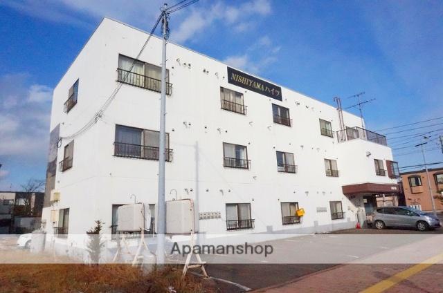 北海道恵庭市、恵庭駅徒歩3分の築28年 3階建の賃貸マンション