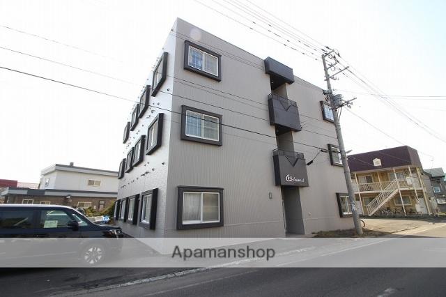 北海道恵庭市、恵庭駅徒歩12分の築26年 3階建の賃貸マンション