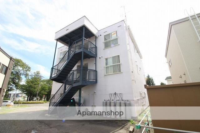 北海道恵庭市、恵庭駅徒歩12分の築28年 3階建の賃貸マンション
