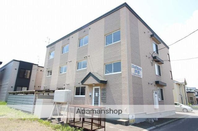 北海道恵庭市、恵庭駅徒歩10分の築14年 3階建の賃貸アパート