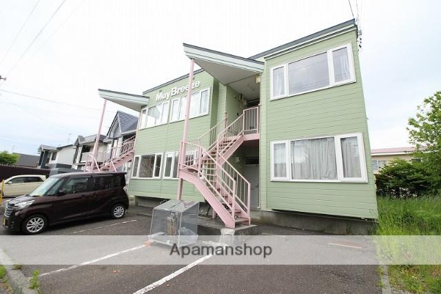 北海道恵庭市、恵庭駅徒歩10分の築23年 2階建の賃貸アパート