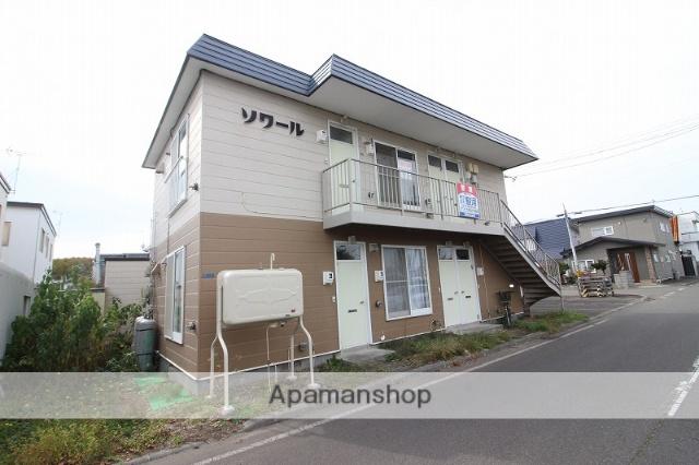 北海道恵庭市の築24年 2階建の賃貸アパート
