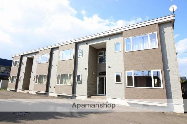 北海道恵庭市、恵庭駅徒歩5分の築12年 2階建の賃貸アパート