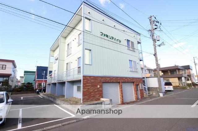 北海道恵庭市、島松駅徒歩4分の築24年 2階建の賃貸アパート