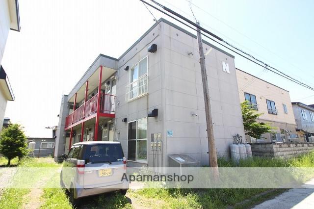 北海道恵庭市、島松駅徒歩4分の築31年 2階建の賃貸アパート