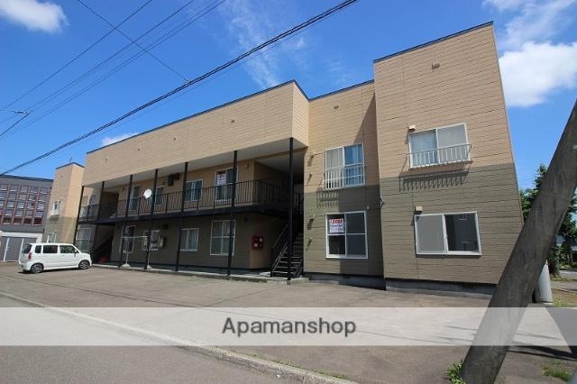 北海道恵庭市の築28年 2階建の賃貸アパート