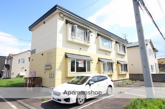 北海道恵庭市、恵庭駅徒歩20分の築13年 2階建の賃貸アパート