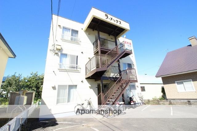 北海道恵庭市の築24年 3階建の賃貸アパート