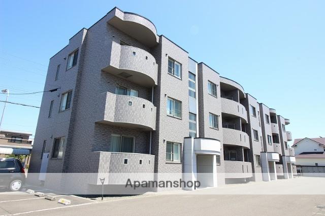 北海道恵庭市、恵庭駅徒歩8分の築13年 3階建の賃貸マンション