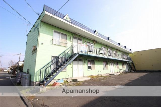 北海道恵庭市、恵庭駅徒歩7分の築25年 2階建の賃貸アパート
