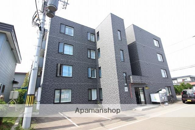 北海道恵庭市、恵庭駅徒歩7分の築8年 4階建の賃貸マンション