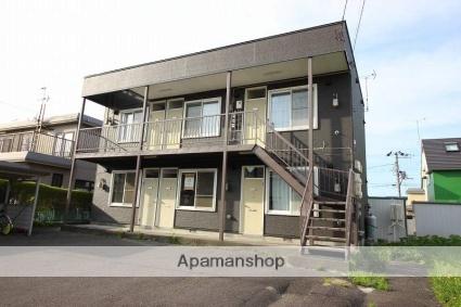 北海道恵庭市、恵み野駅徒歩16分の築26年 2階建の賃貸アパート