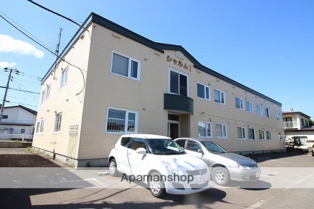 北海道恵庭市、恵庭駅徒歩15分の築23年 2階建の賃貸アパート