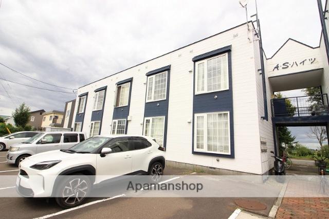 北海道恵庭市の築29年 2階建の賃貸アパート