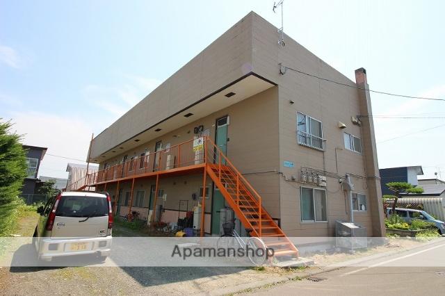 北海道恵庭市の築36年 2階建の賃貸アパート