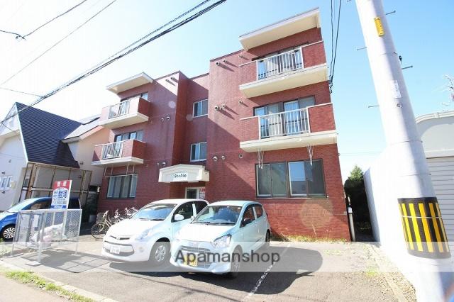 北海道恵庭市、恵み野駅徒歩8分の築22年 3階建の賃貸マンション