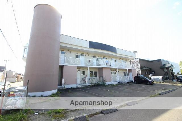 北海道恵庭市、恵庭駅徒歩20分の築29年 2階建の賃貸アパート
