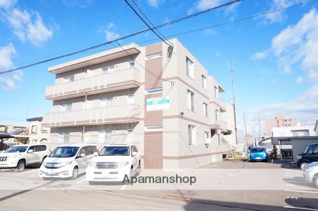 北海道恵庭市、恵庭駅徒歩12分の築5年 3階建の賃貸マンション