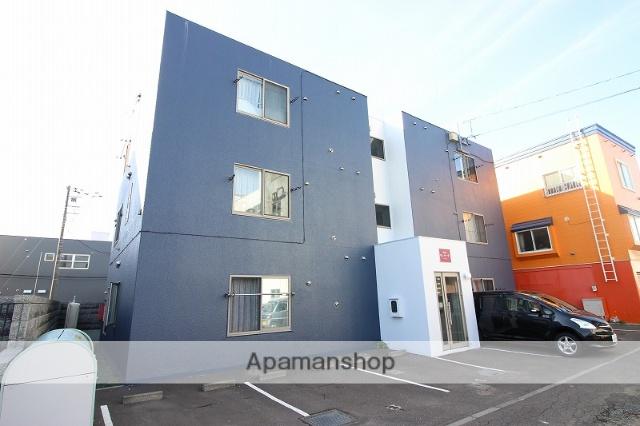 北海道恵庭市、恵庭駅徒歩13分の築12年 3階建の賃貸マンション