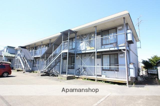 北海道恵庭市、恵庭駅徒歩18分の築26年 2階建の賃貸アパート