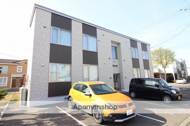 北海道恵庭市、恵庭駅徒歩15分の築4年 2階建の賃貸アパート