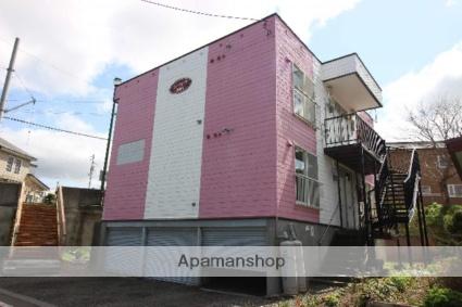 北海道恵庭市、恵庭駅徒歩17分の築29年 3階建の賃貸アパート