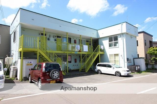 北海道恵庭市の築31年 2階建の賃貸アパート