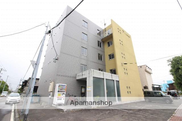 北海道恵庭市、恵庭駅徒歩8分の築19年 5階建の賃貸マンション