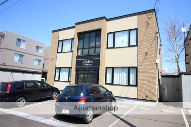 北海道恵庭市、恵庭駅徒歩12分の築12年 2階建の賃貸アパート