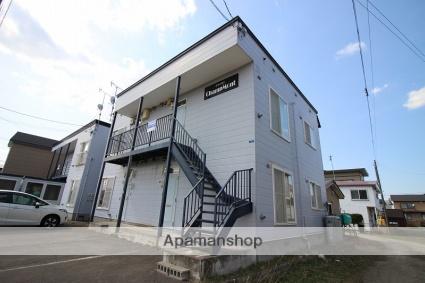 北海道恵庭市の築19年 2階建の賃貸アパート
