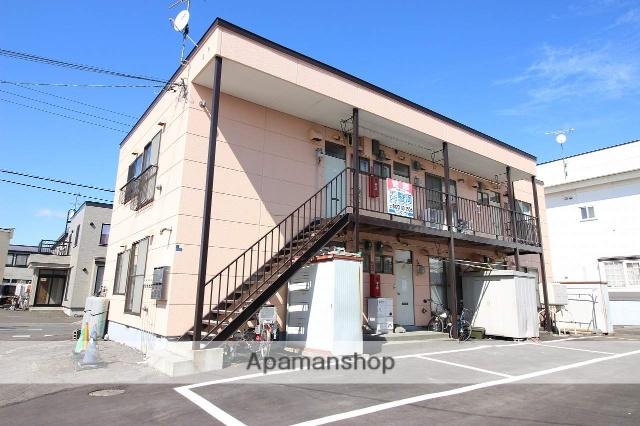 北海道恵庭市、恵み野駅徒歩10分の築31年 2階建の賃貸アパート