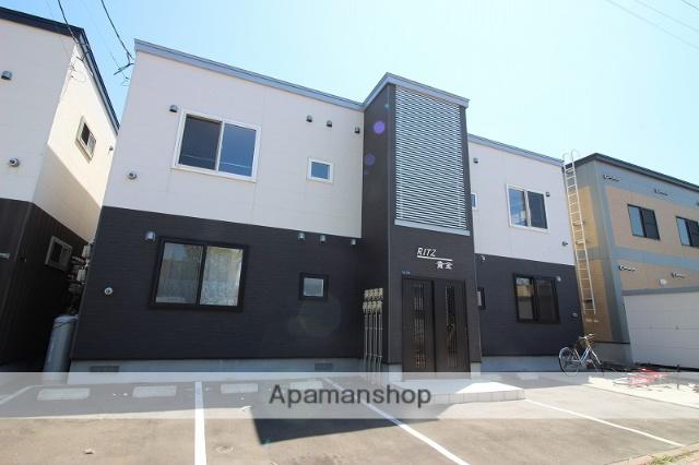 北海道恵庭市、恵庭駅徒歩11分の築4年 2階建の賃貸アパート