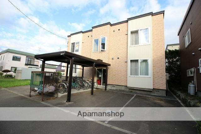 北海道恵庭市、恵庭駅徒歩20分の築11年 2階建の賃貸アパート