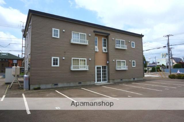 北海道恵庭市、恵庭駅徒歩12分の築18年 2階建の賃貸アパート