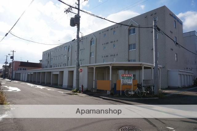 北海道恵庭市の築13年 4階建の賃貸マンション