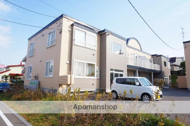 北海道恵庭市、恵庭駅徒歩17分の築28年 2階建の賃貸アパート